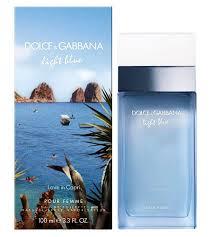 Light Blue Love In Capri Edt Spray 100ml - Dolce & Gabbana